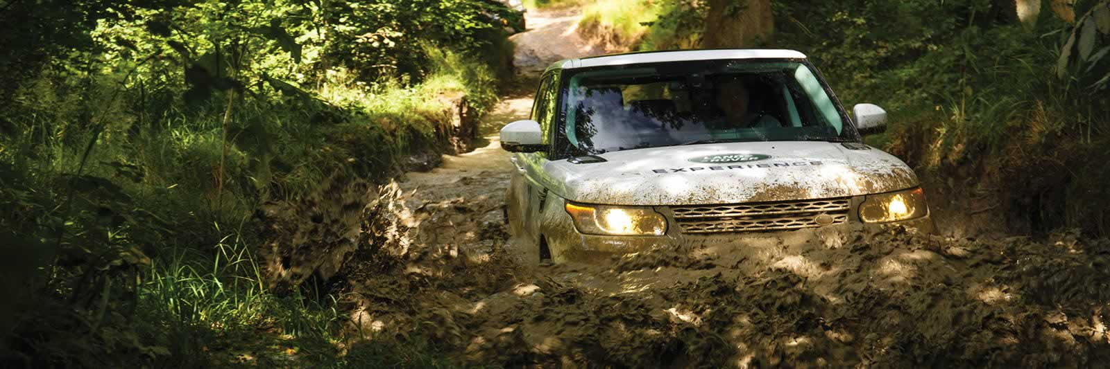 we invite our new customers to take them off-road on a complimentary Half Day Land Rover Experience.<br><br>